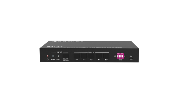 Front view of the Digital Soft Codec Switcher