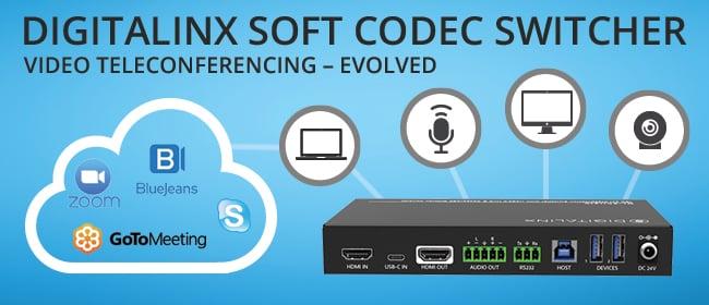 DigitaLinx Soft Codec Switcher