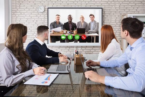 conference room presentation